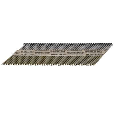 Bostitch 3-1/4 in. 11 Ga. Angled Strip Nails 33 deg. Smooth Shank 2,000 pk