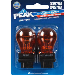 Peak  Halogen  Parking/Stop/Tail/Turn  Miniature Automotive Bulb  3357/3457NA