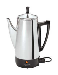 Presto  12 cups Percolator  Silver