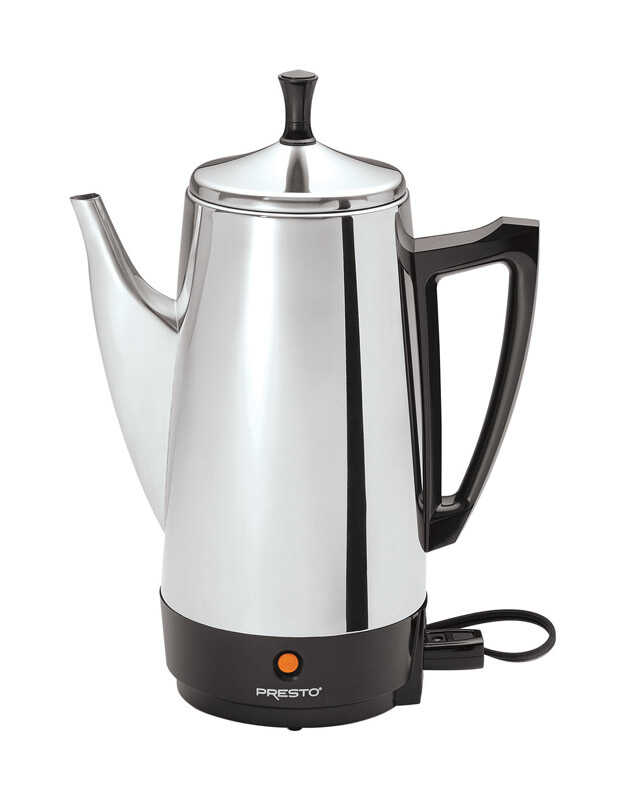 Presto  12 cups Silver  Percolator