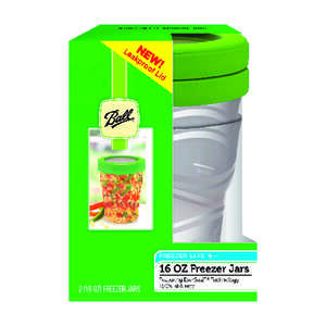 Ball  Wide Mouth  Freezer Jar  1 pt. 2 pk