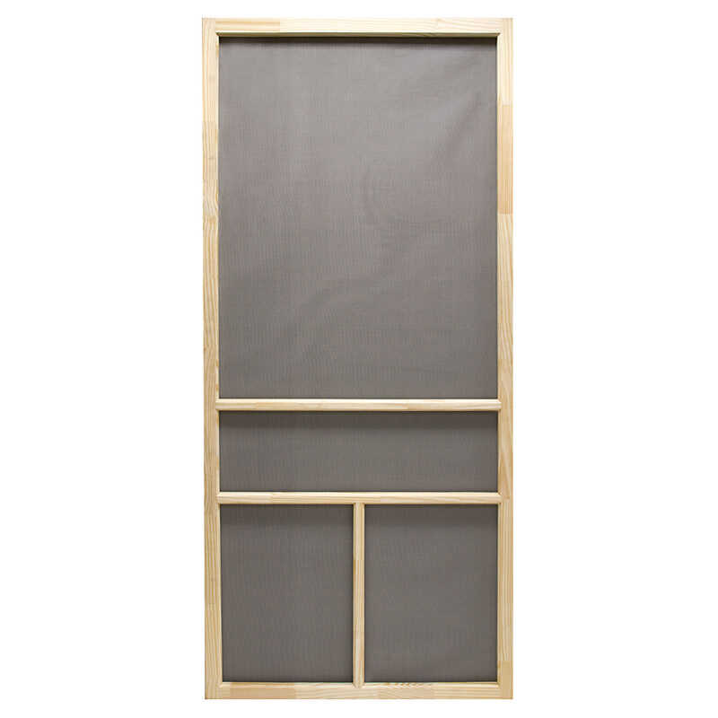 Superior  Dogwood  32 in. W x 80-1/2 in. H Dogwood  Screen Door  Natural Wood  Wood