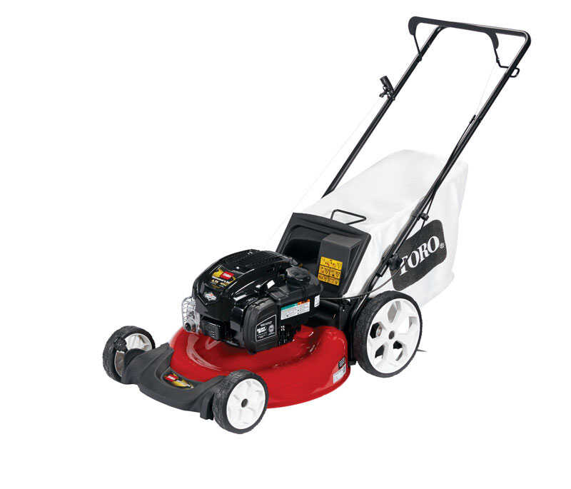Toro 21 in  W 163 cc Manual-Push Mulching Capability Lawn