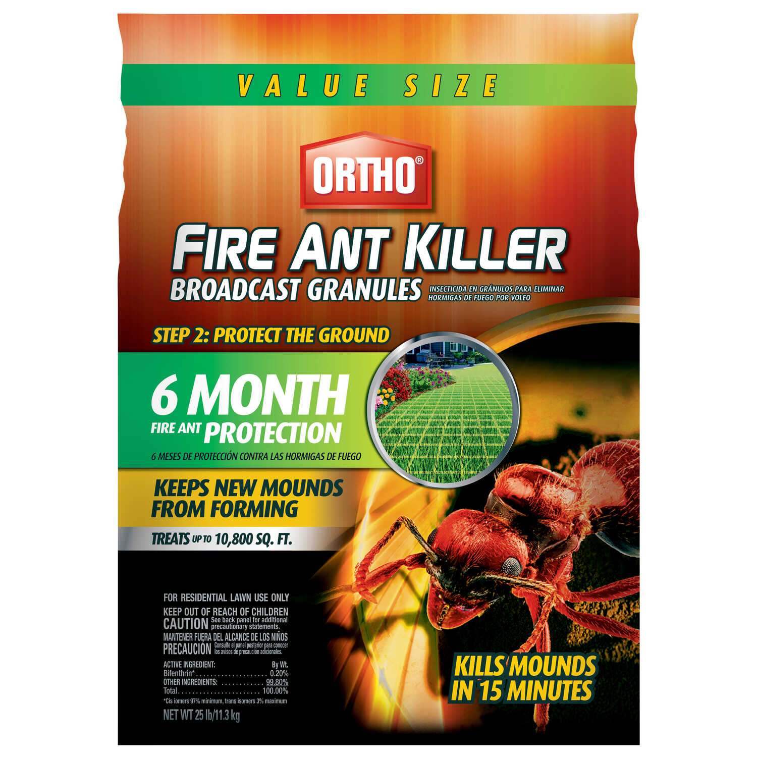 Ortho  Fire Ant Killer  25 lb.