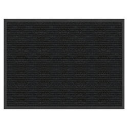 Multy Home Platinum 48 in. L x 36 in. W Charcoal Indoor Polyester/Vinyl Nonslip Floor Mat