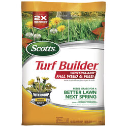 Scotts  Turf Builder WinterGuard  28-0-6  Weed and Feed  For All Grass Types 43 lb. 15000 sq. ft.