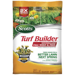Scotts  Turf Builder Winterguard  28-0-6  Weed and Feed  For All Grass Types