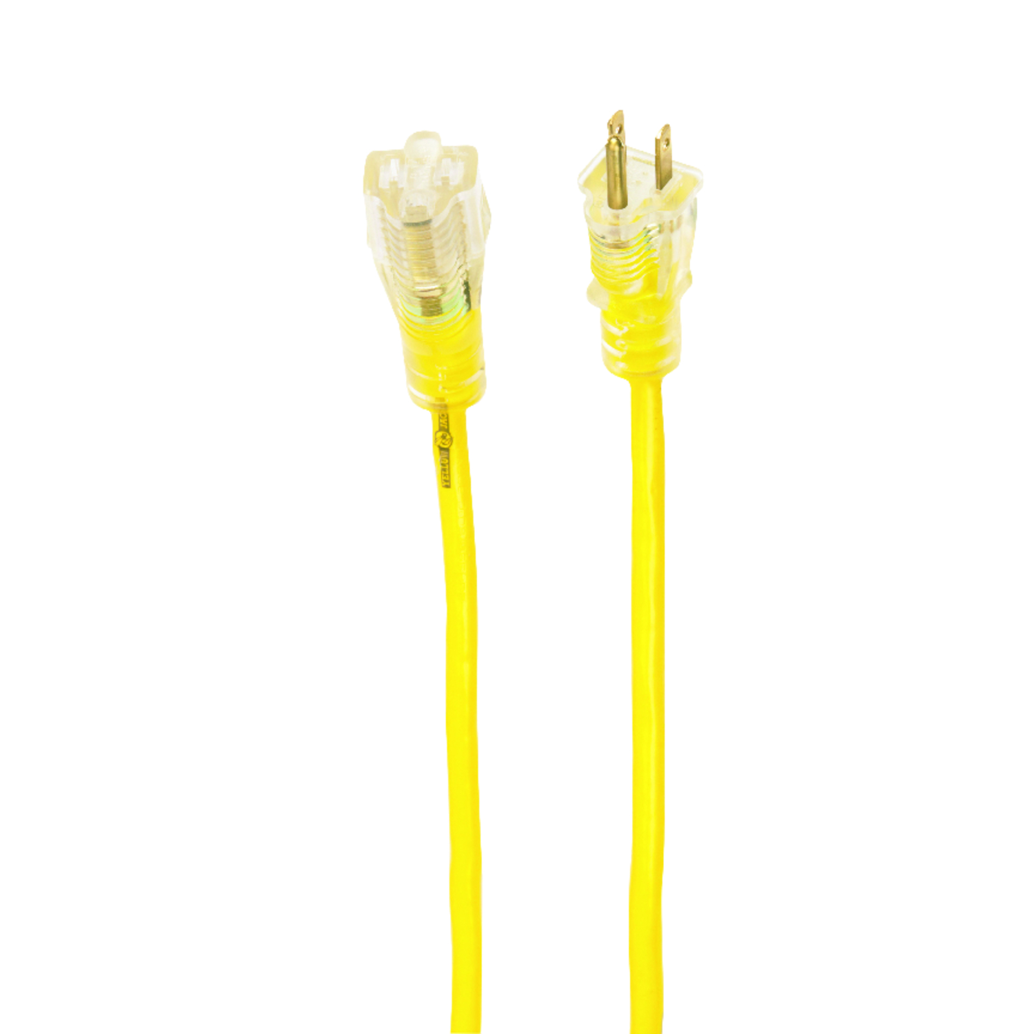 Yellow Jacket  Outdoor  Yellow  Extension Cord  14/3 SJTW  100 ft. L