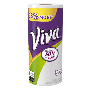 Viva  Choose A Sheet  Paper Towels  102 sheet 1 Ply 1 roll