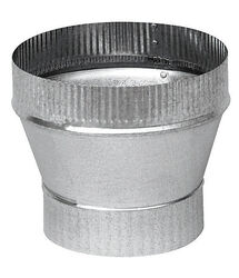 Imperial  4 in. Dia. x 6 in. Dia. Galvanized Steel  Stove Pipe Increa