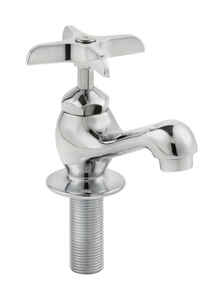 Homewerks  Deck mount  One Handle  Chrome  Single Basin Faucet