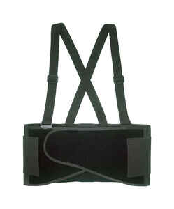 CLC  46 in. to 56 in. Elastic  Back Support Belt  Black  XL  1 pc.