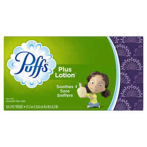 Puffs  124 count Facial Tissue