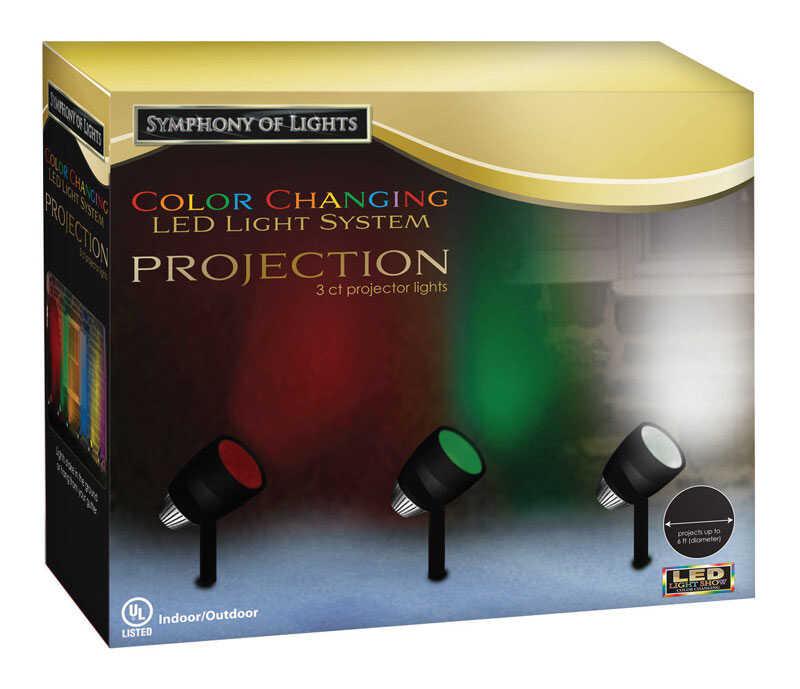 Brite Star Led Color Change Light Show Projector Blue Green Red 20 Ft 3 Lights Ace Hardware