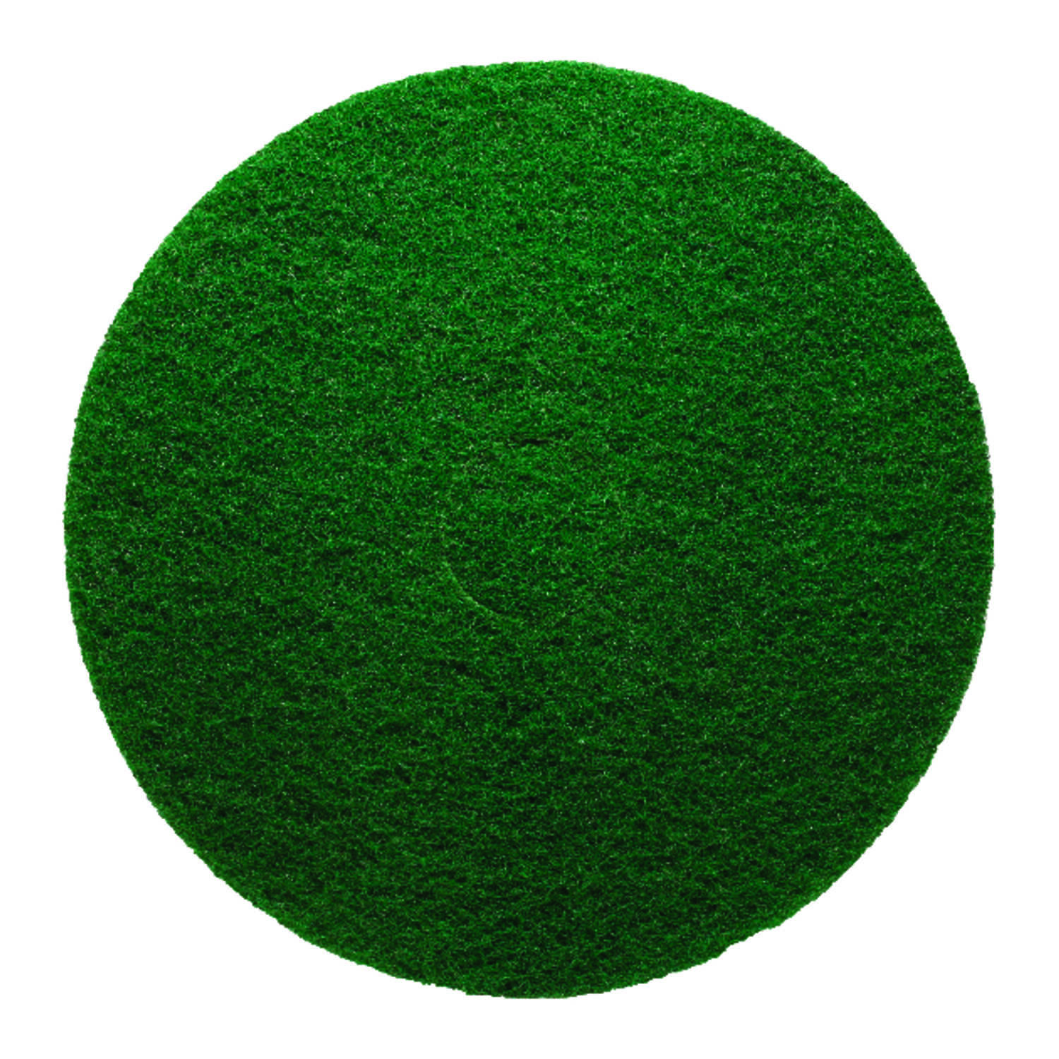 Gator  13 in. Dia. Non-Woven Natural/Polyester Fiber  Floor Pad Disc  Green