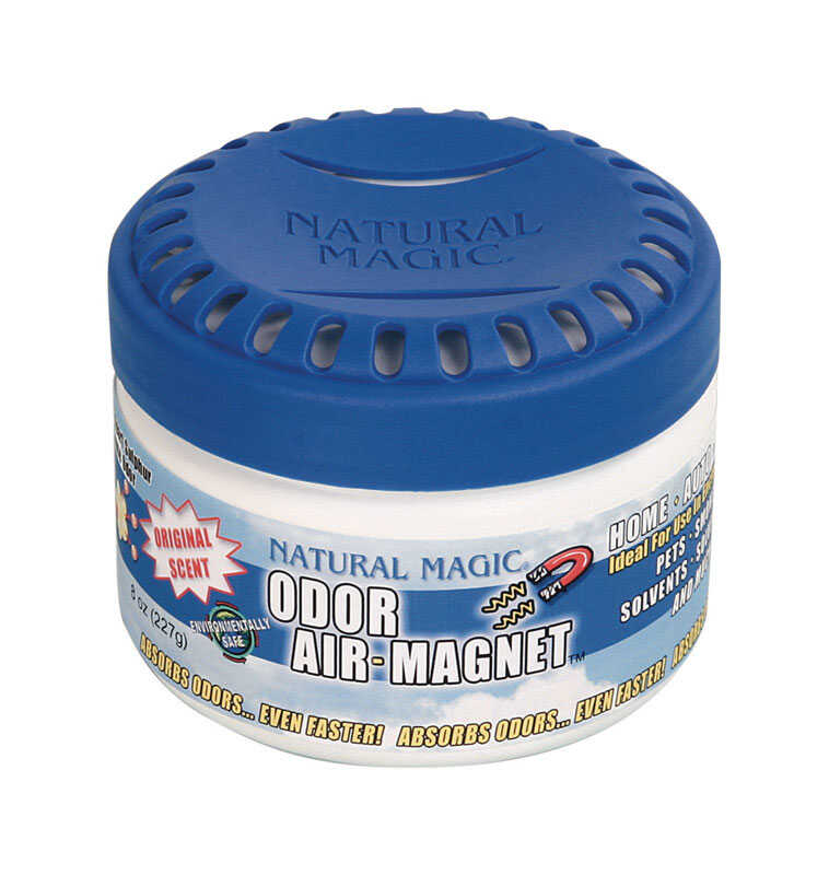 Gonzo  Natural Magic  Fresh Clean Scent Odor Air Magnet  8 oz. Gel