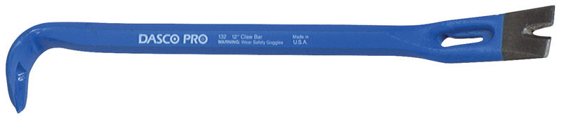 Dasco Pro  12 in. L Pry Bar - Nail Puller  Blue  1 pc.