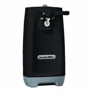 Proctor Silex  Black  Electric Can Opener  Magnetic Lid Holder