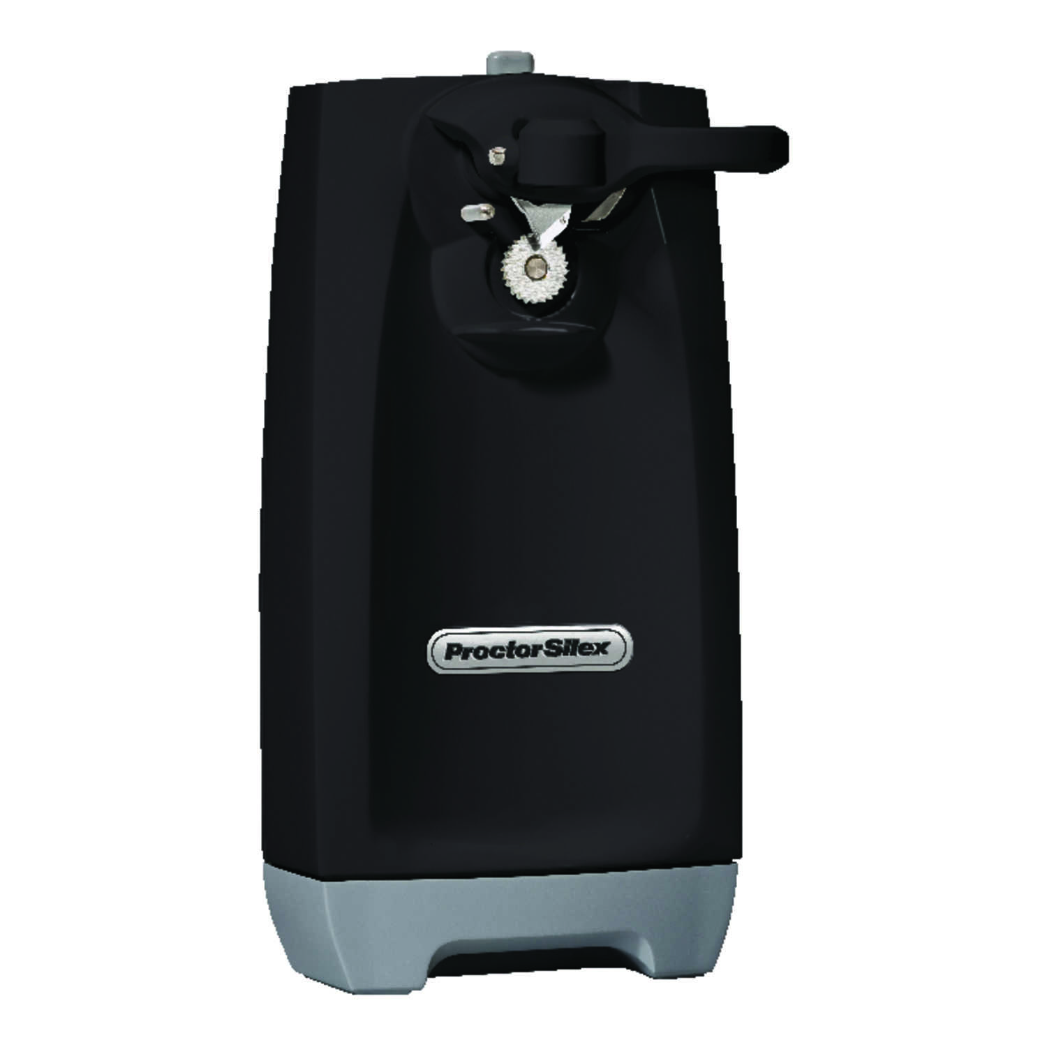 Proctor Silex  Black  Magnetic Lid Holder Electric Can Opener