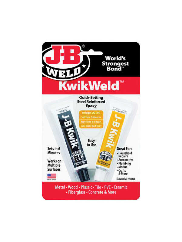 J-B Weld Kwik Weld High Strength Solid Automotive Adhesive 1 oz