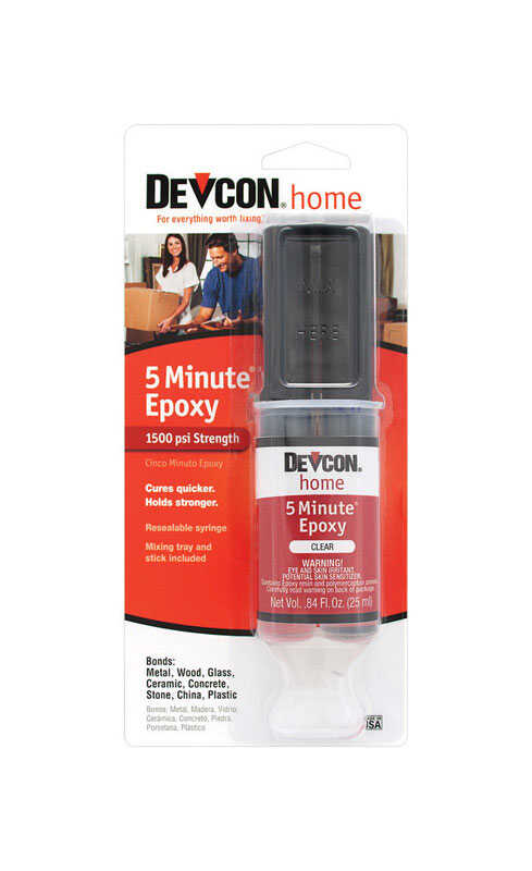 Devcon Home  5 Minute  High Strength  Epoxy  .84 oz.