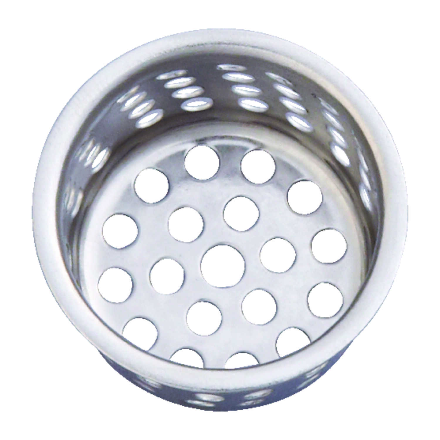 Ace  1 in. Dia. Chrome  Replacement Strainer Basket