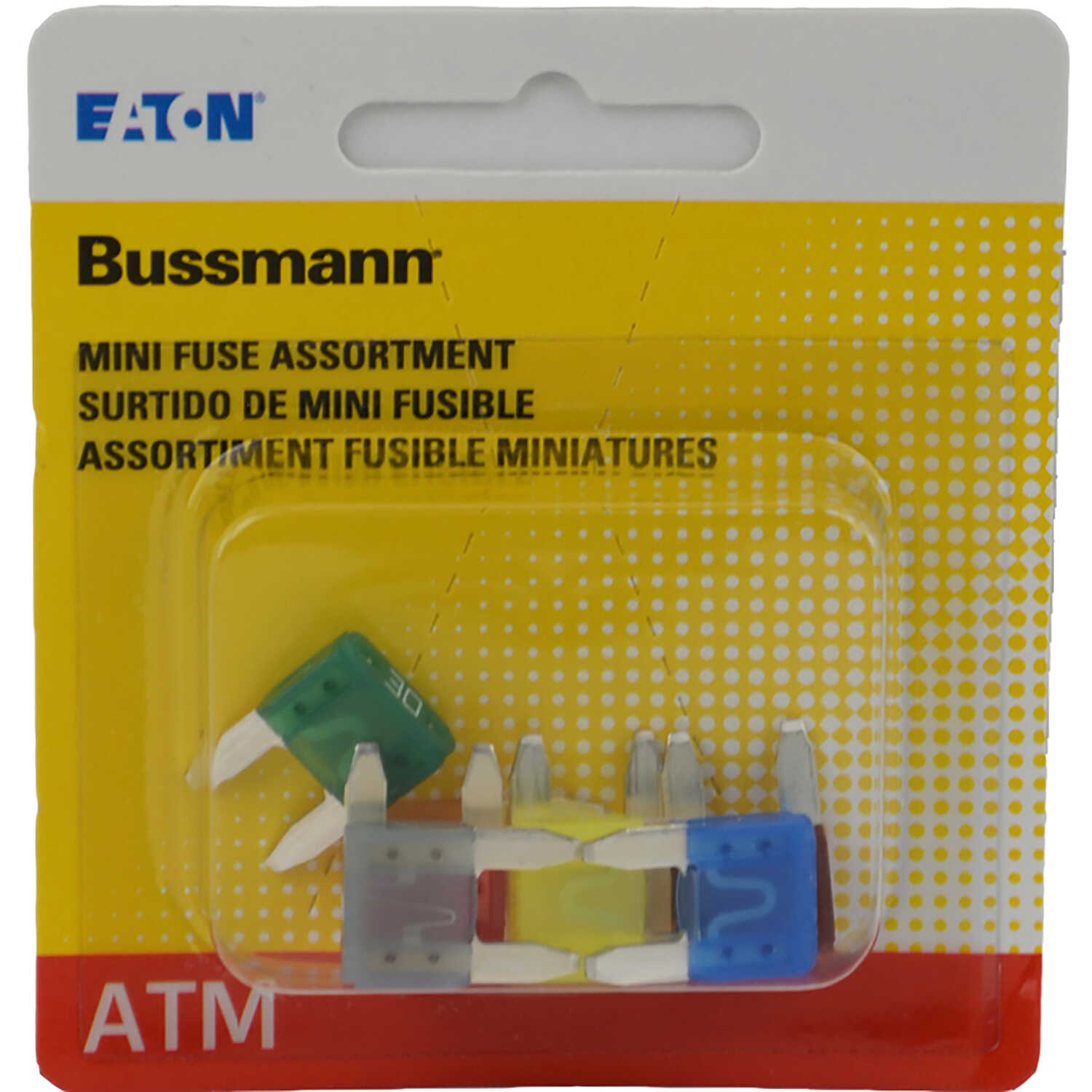 Bussmann  30 amps ATM  Fuse Assortment  8 pk