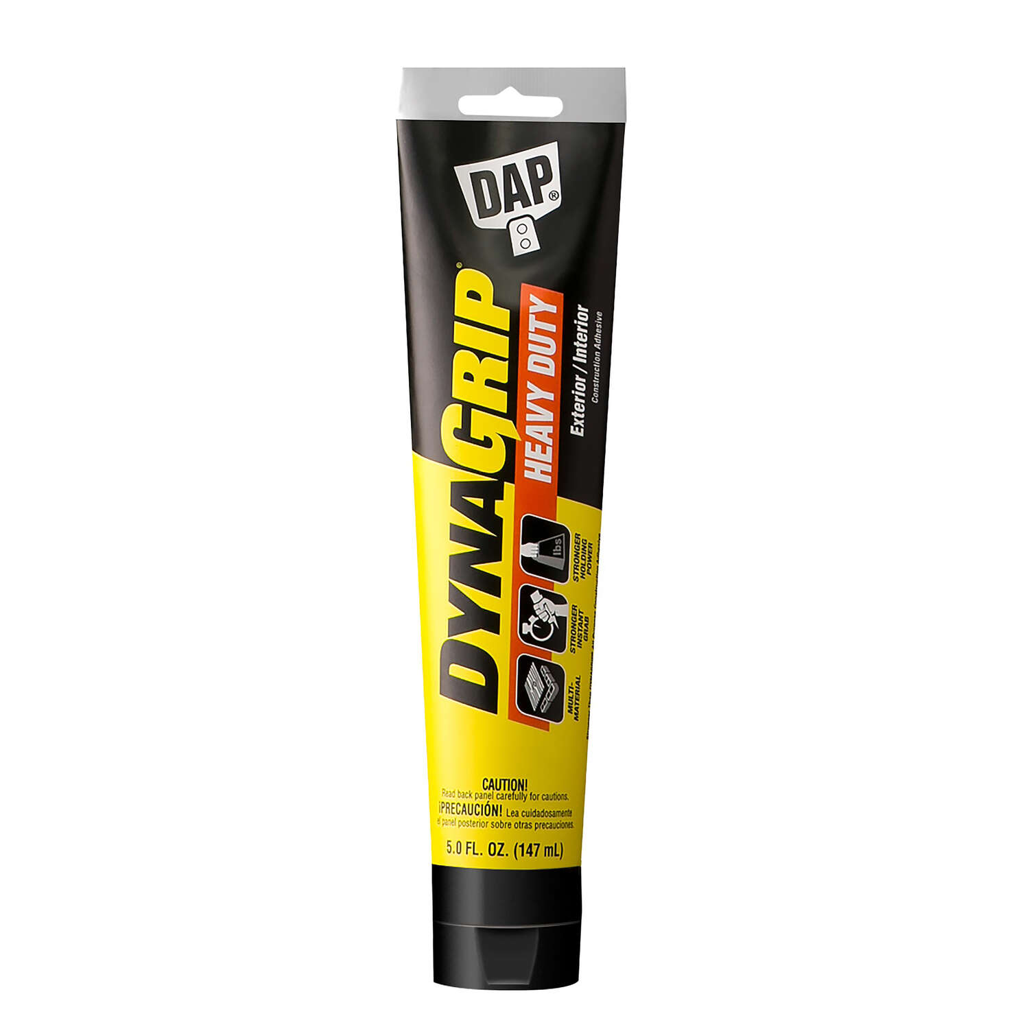 DAP  DynaGrip  Construction Adhesive  5 oz.