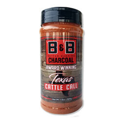 B&B Charcoal Texas Cattle Call Seasoning Rub 13 oz.