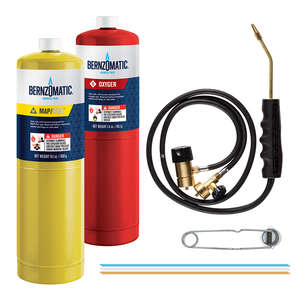 Bernzomatic  Map/Pro Oxygen Torch Kit  1 pk