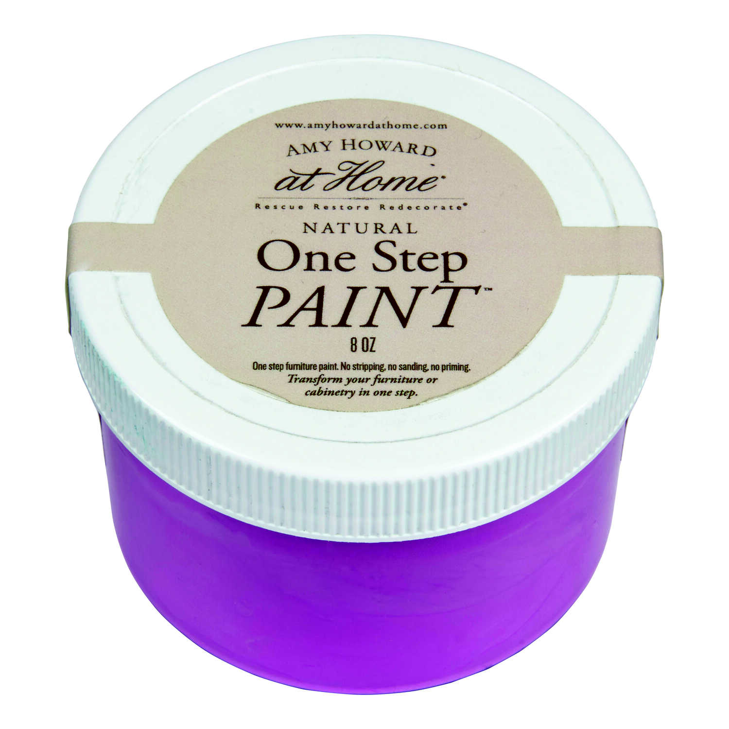 Amy Howard at Home  Orchid  Flat Chalky Finish  One Step Paint  8 oz.