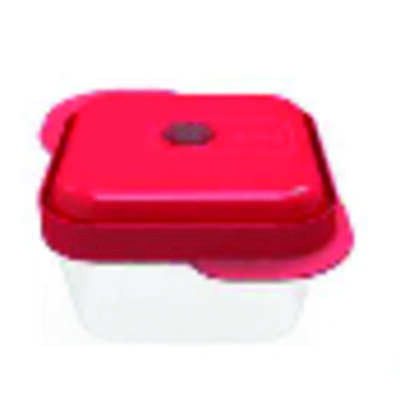 T-Fal  Thermoseal  Red/Clear  Plastic  Container