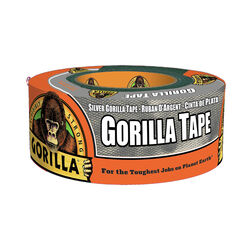 Gorilla 1.88 in. W x 12 yd. L Silver Duct Tape