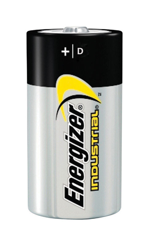 Energizer  Industrial  D  Alkaline  Batteries  1.5 volts Boxed  12 pk