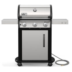 Weber  Spirit S-315  Natural Gas  Grill  Stainless Steel  3 burners