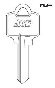 Ace  House  Key Blank  Single sided For Arrow Locks