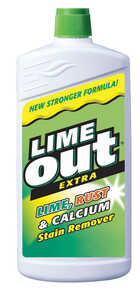 Lime Out  Extra  Lime, Rust & Calcium Stain Remover  24 fl. oz.  No Scent Liquid