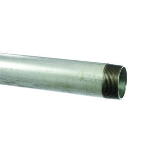 Surethread  1-1/4 in. Dia. x 10 ft. L Galvanized  Steel  Steel Pipe