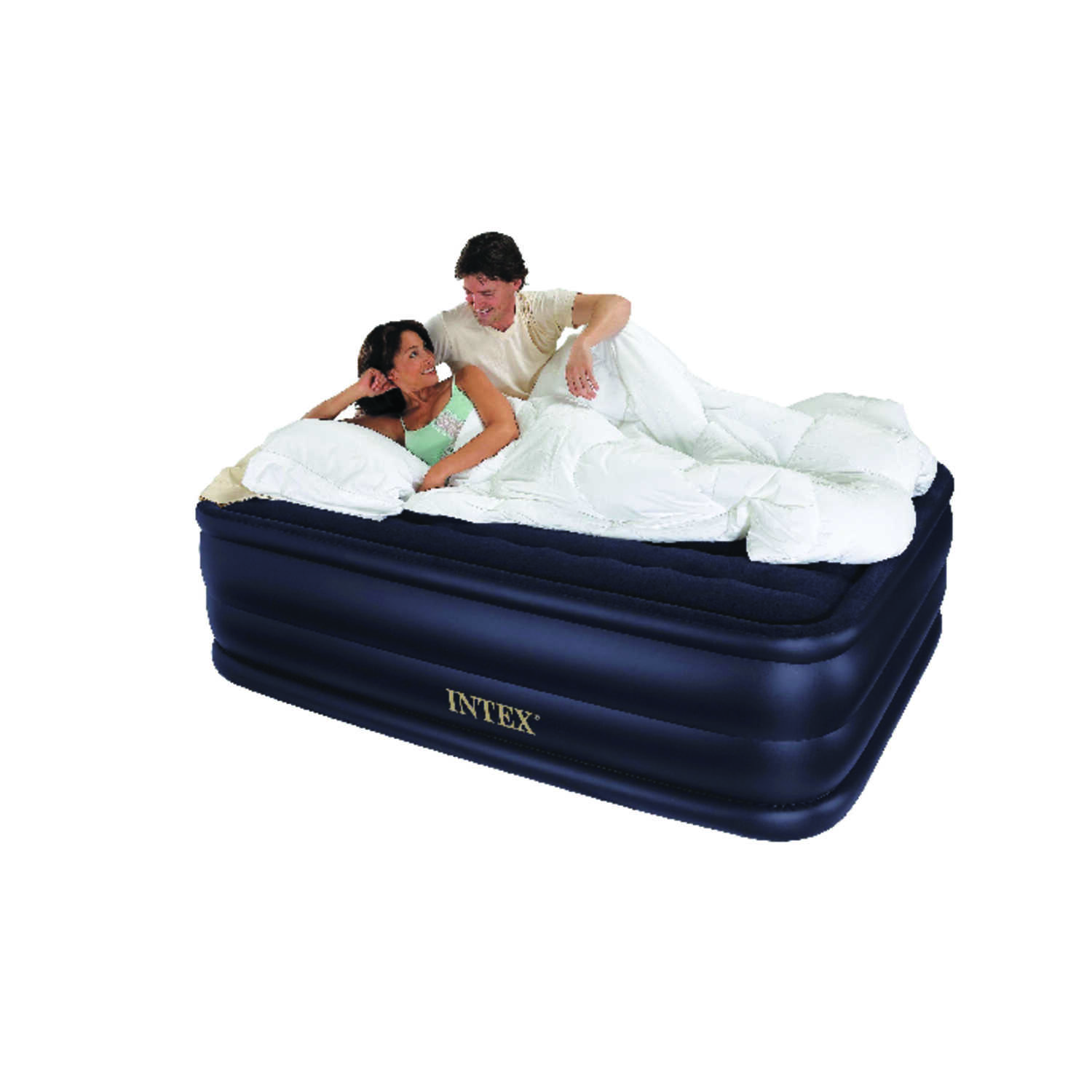 Intex  Dura Beam  Air Mattress  Queen  Pump Included