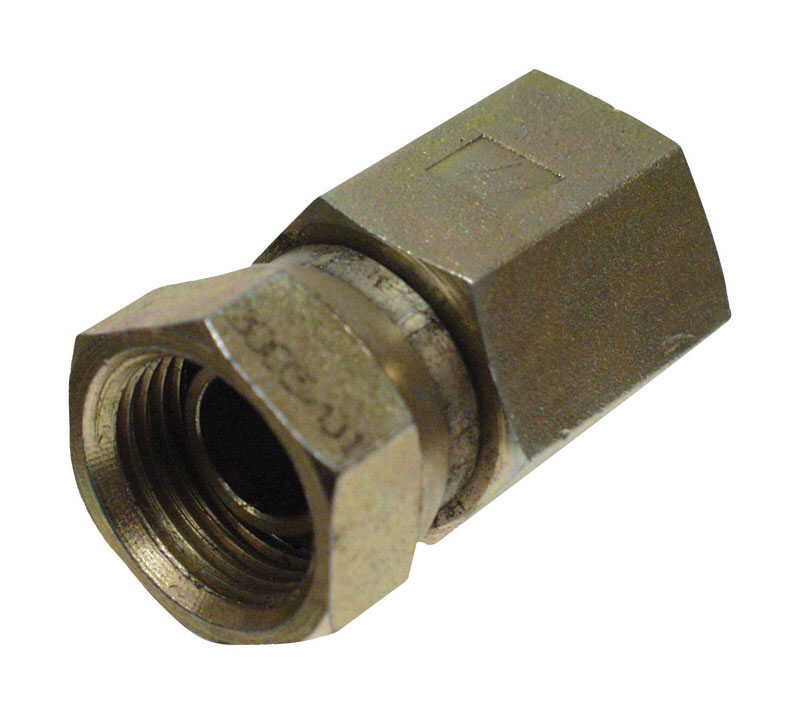 Apache  Hydraulic Adapter  1/2 in. Dia. x 1/2 in. Dia. 1 pk