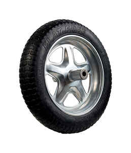Jackson  Spoked  15-1/2 in. Dia. Wheelbarrow Tire  Rubber