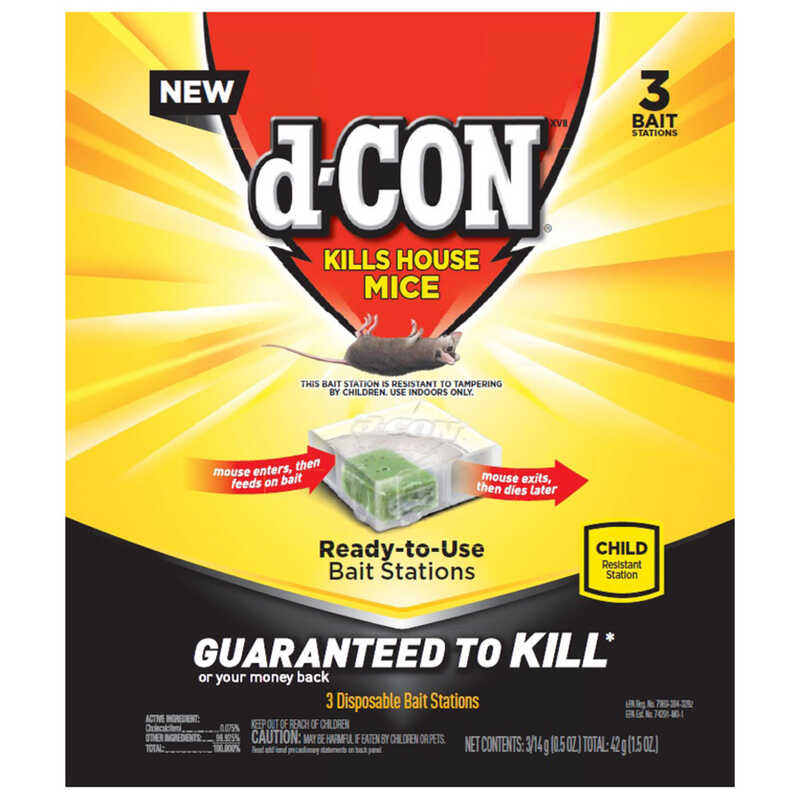 D-Con  Bait Station  For Mice