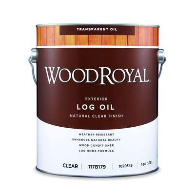 Ace  Wood Royal  Clear  Oil-Based  Log Oil  1 gal.