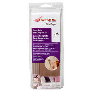 Saint-Gobain ADFORS  Fibatape  6 in. L x 6 in. W White  Fiberglass Mesh  Hole and Crack Repair Kit