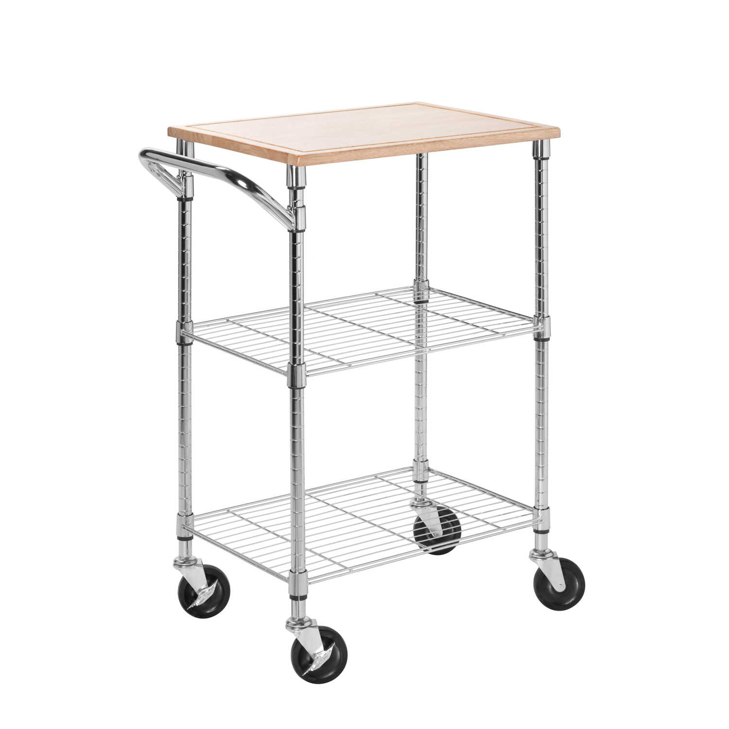 Honey Can Do  37-1/2 in. H x 17-3/4 in. D x 28-1/2 in. W Utility Cart