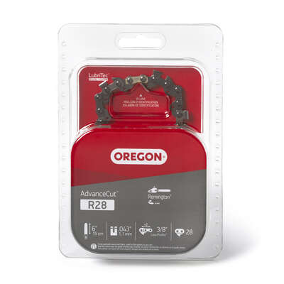 Oregon  AdvanceCut  6 in. 28 links Chainsaw Chain