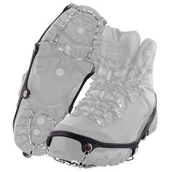 Yaktrax  DIAMOND GRIP  Unisex  Rubber/Steel  Snow and Ice Traction  Black  W 5-7/M 5-6  Waterproof 1