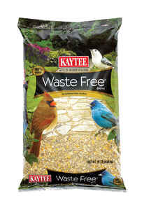Kaytee  Waste Free  Assorted Species  Wild Bird Food  Sunflower Seeds  10 lb.