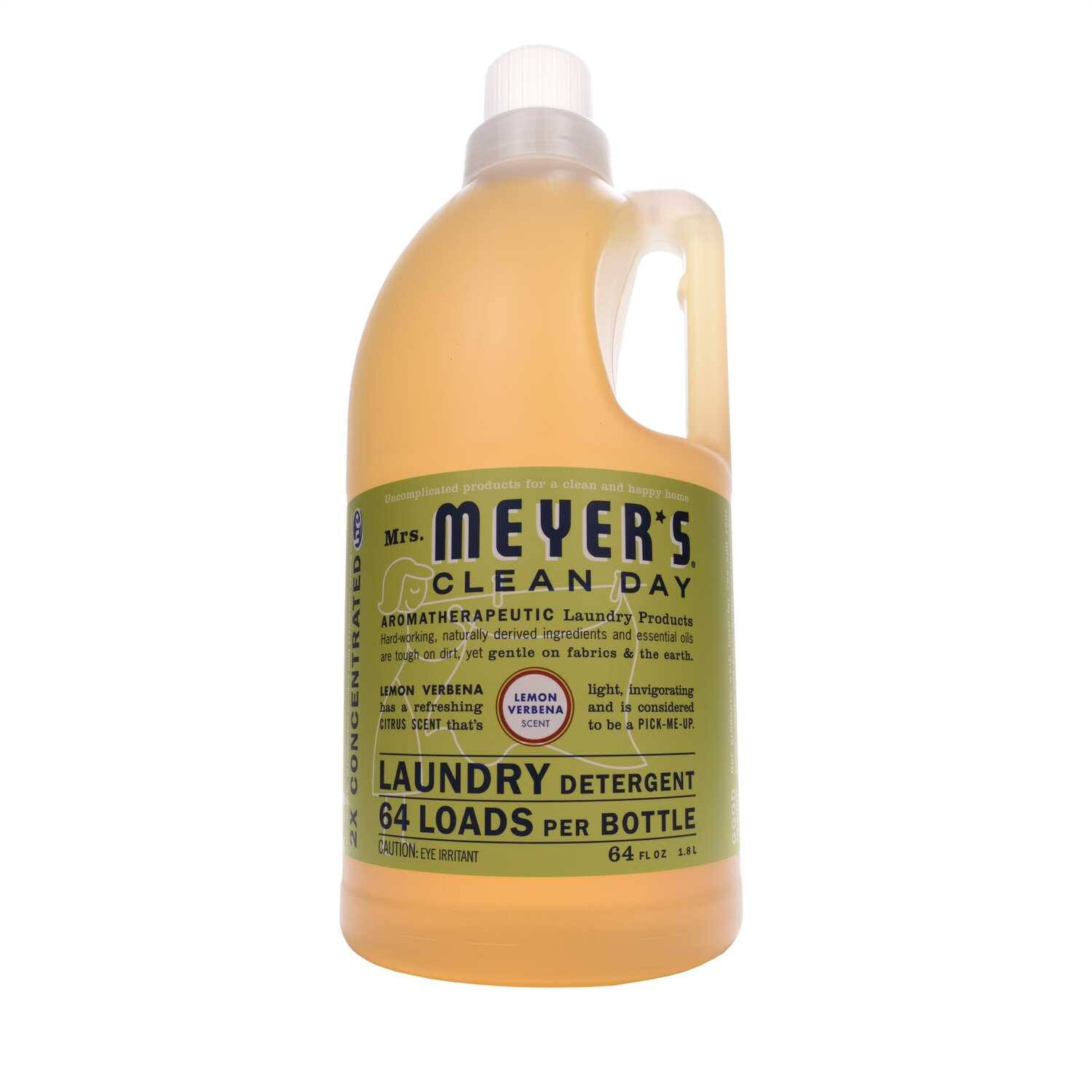 Mrs. Meyer's  Clean Day  Lemon Verbena Scent Laundry Detergent  Liquid  64 oz.