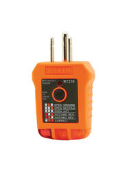 Klein Tools LED Receptacle Tester 1 pk